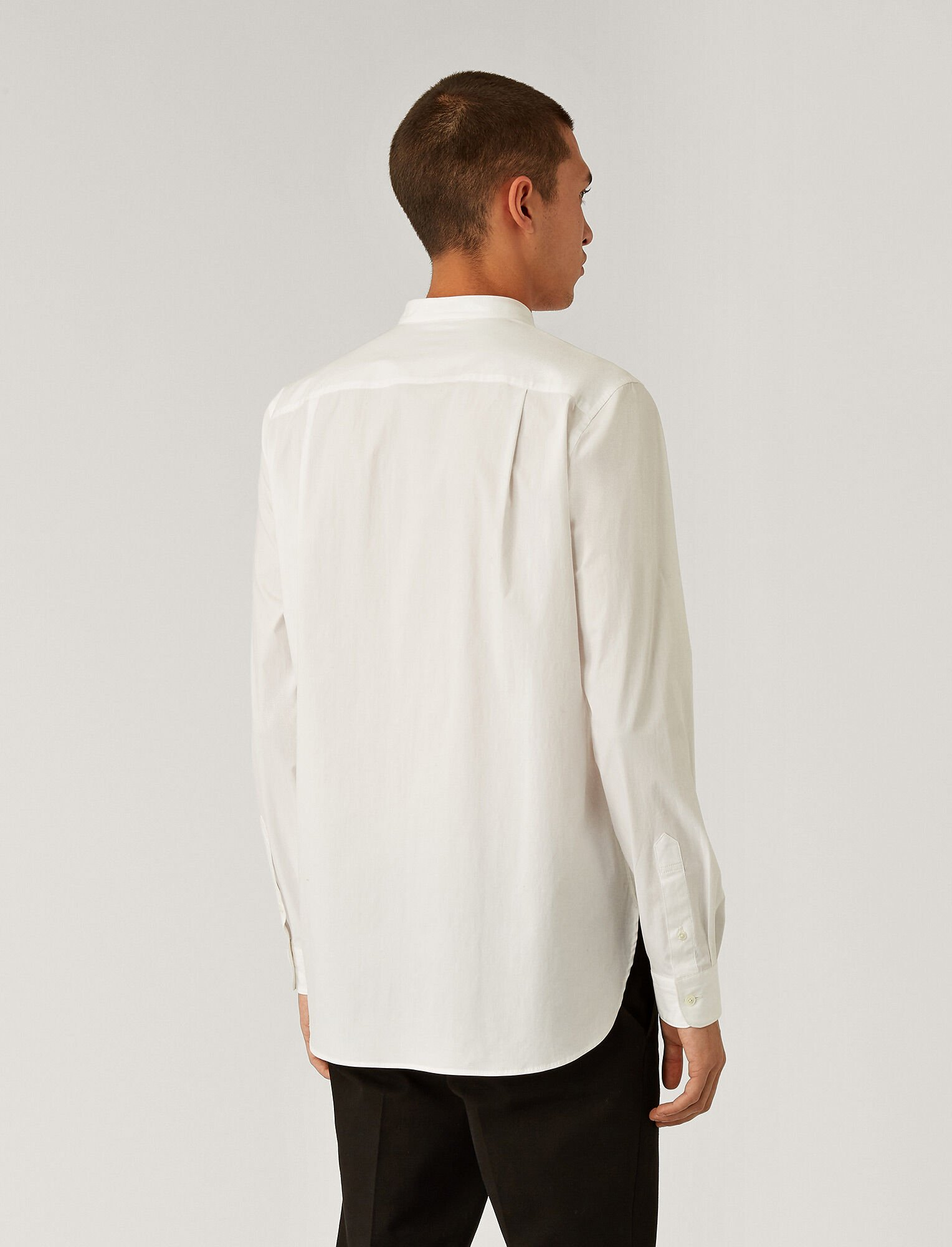 Joseph, Poplin Stretch Shirt, in White
