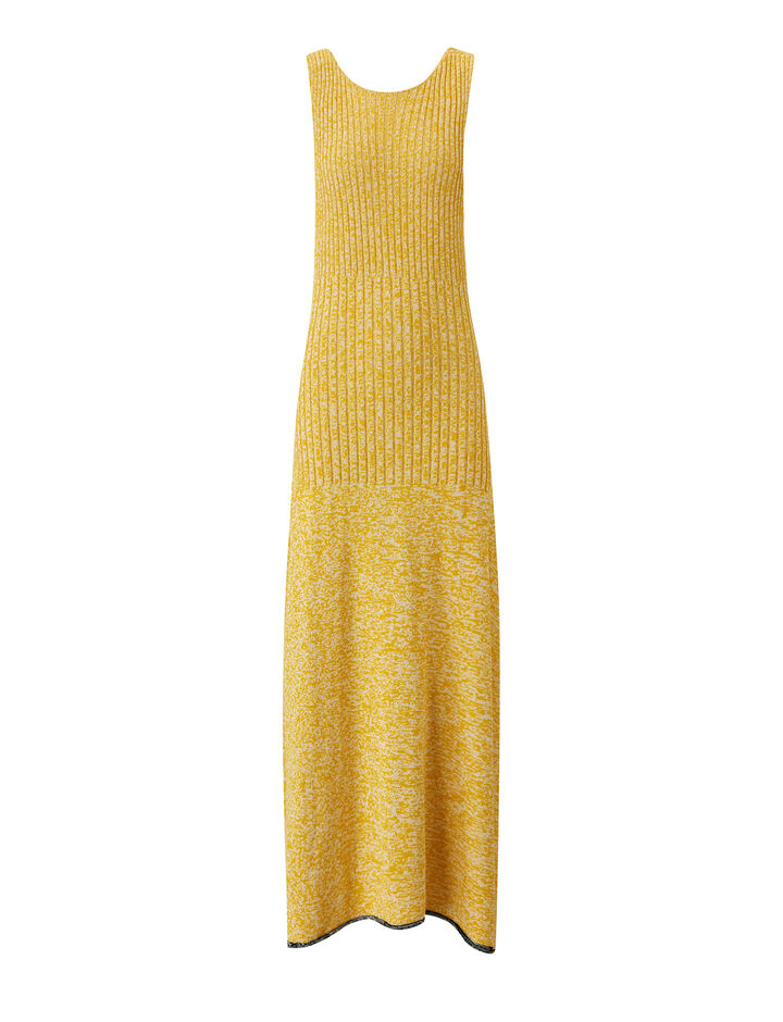 Joseph, Darla-Cotton Viscose Rib, in YELLOW