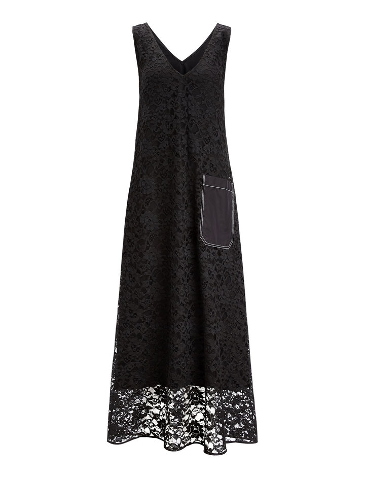 Joseph, Margo Palermo Lace Dress, in BLACK