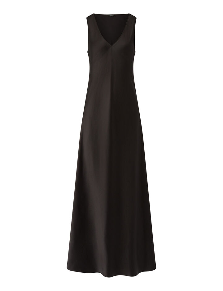 Joseph, Daris Silk Satin Dresses, in Black