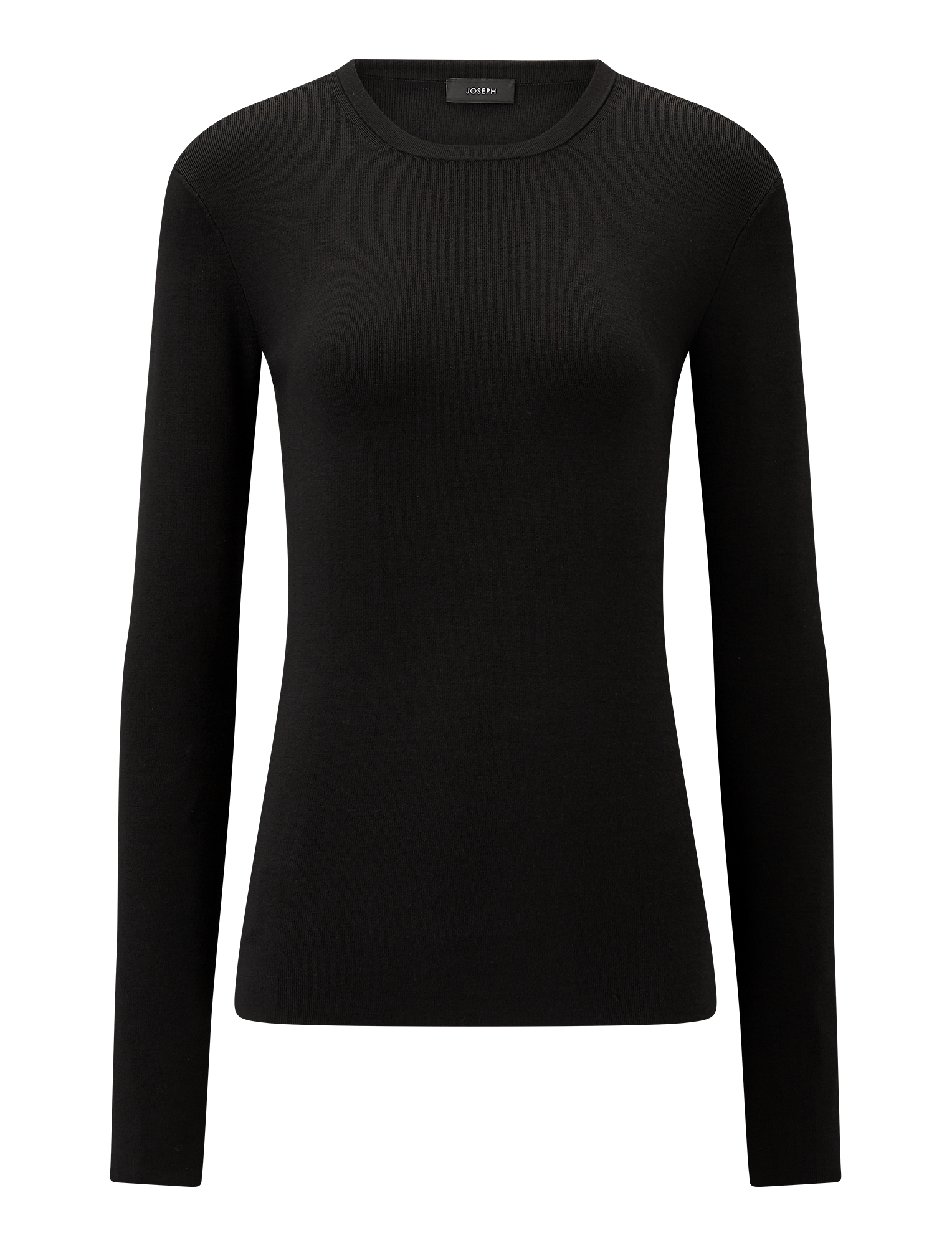 Joseph, Silk Stretch Knit, in BLACK
