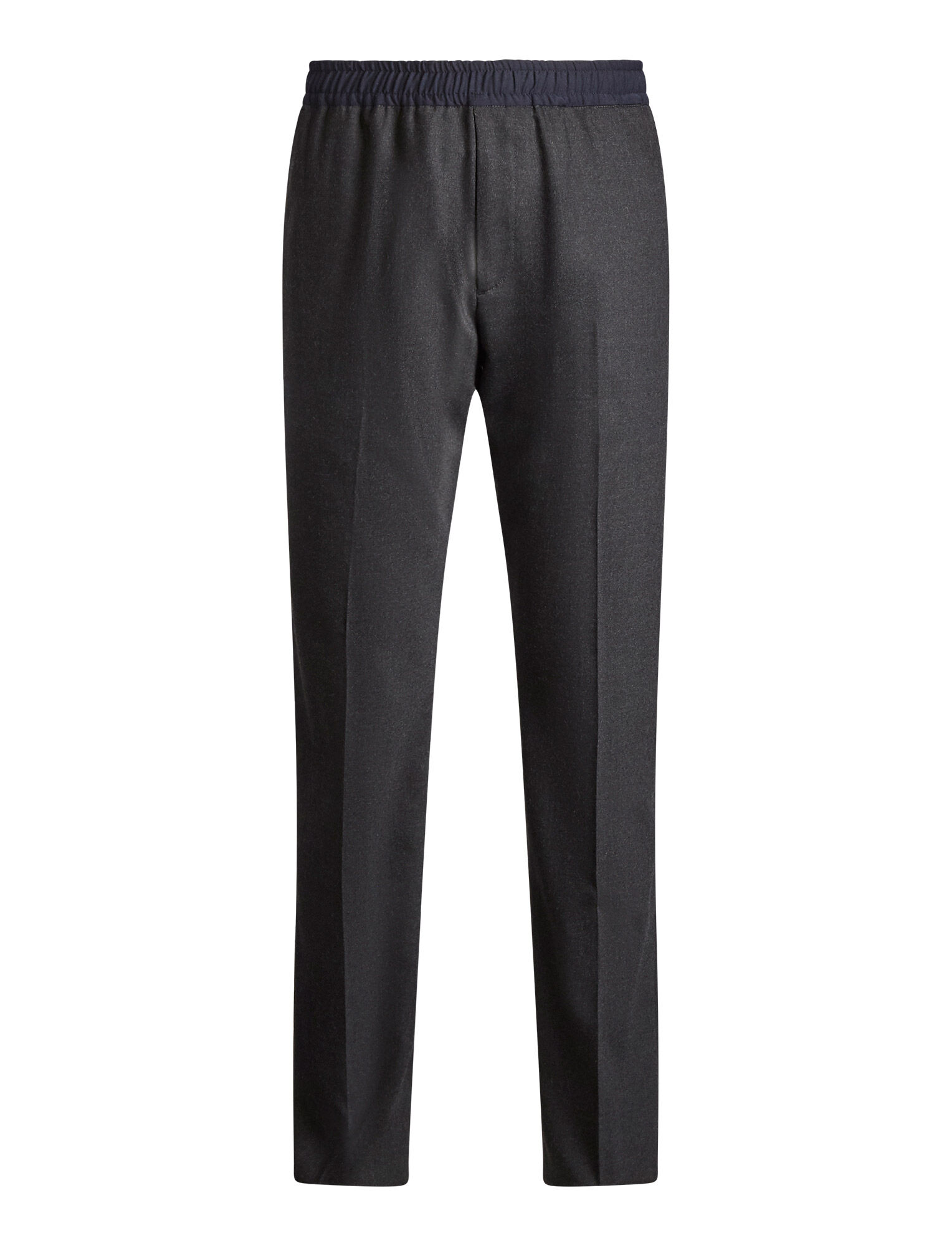 Joseph, Eugene Flannel Stretch Trousers, in CHARCOAL