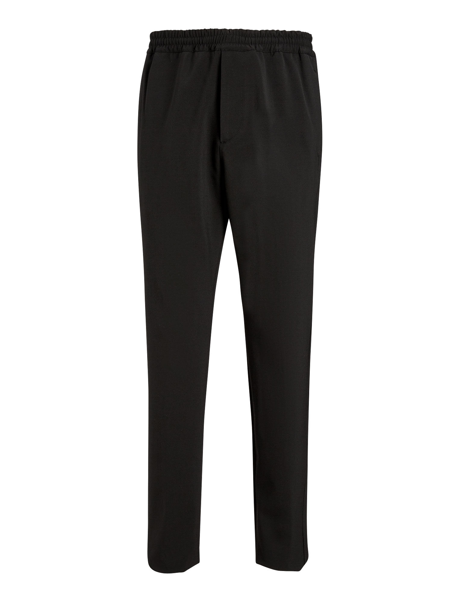 Joseph, Ettrick Techno Wool Stretch Trousers, in BLACK
