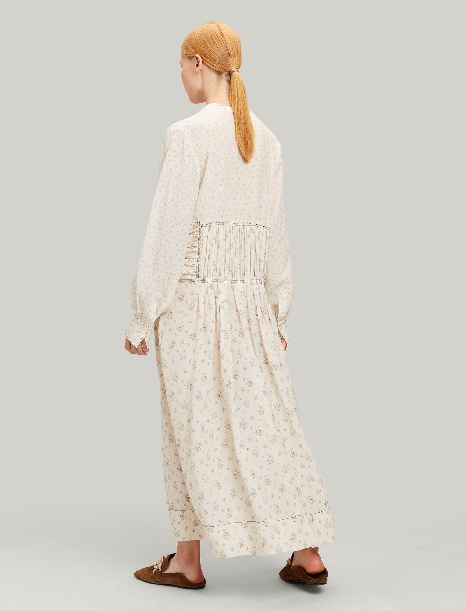 MulticolourJoseph Tala Dress In Patchwork Woolf sthQCrd