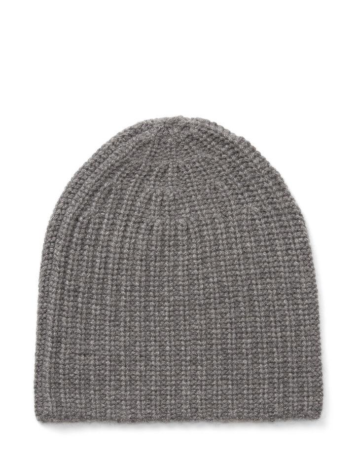 Joseph, Cardigan Cashmere Hat, in GRAPHITE