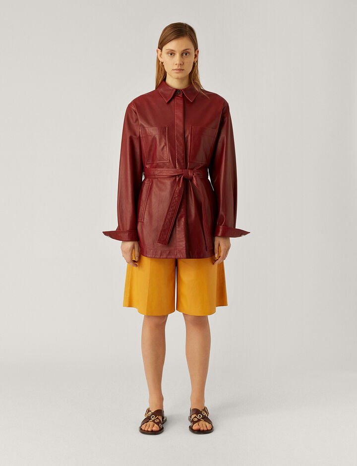 Joseph, Tomy-Nappa Leather, in POLLEN