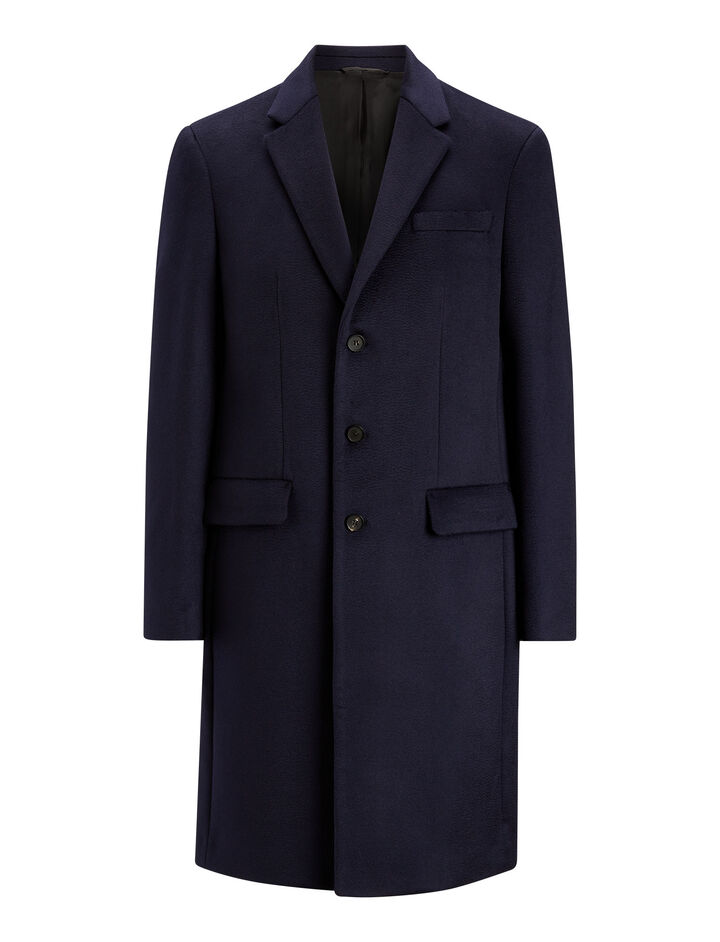 Joseph, London Pure Cachemire Coat, in NAVY