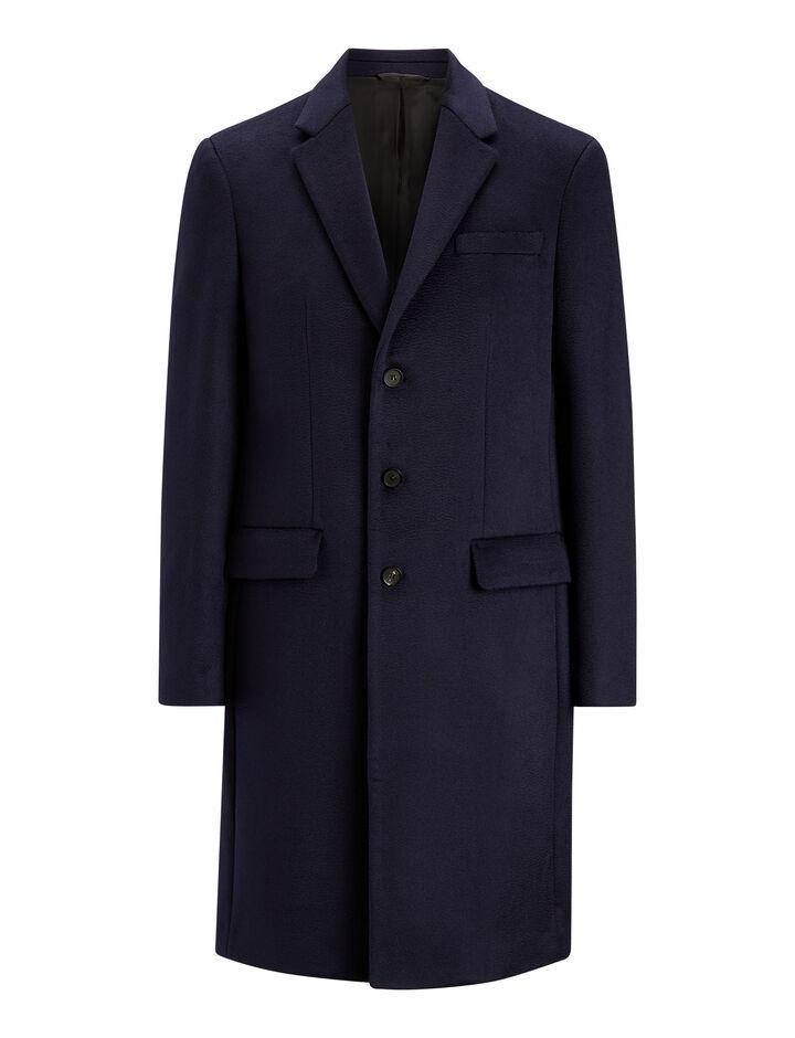 Joseph, London Pure Cachemire Coat, in NAVY