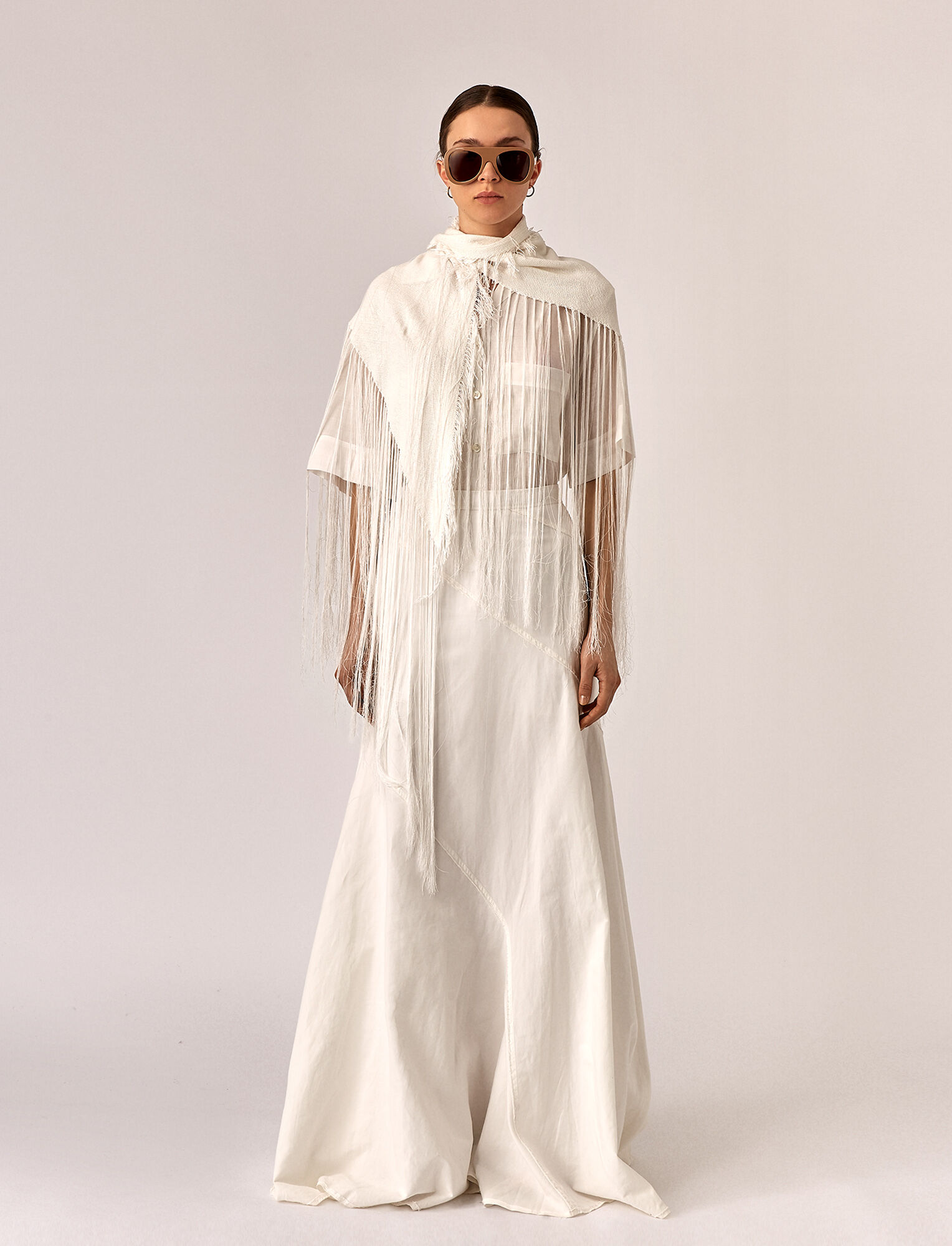 Joseph, Seia Linen Skirt, in WHITE