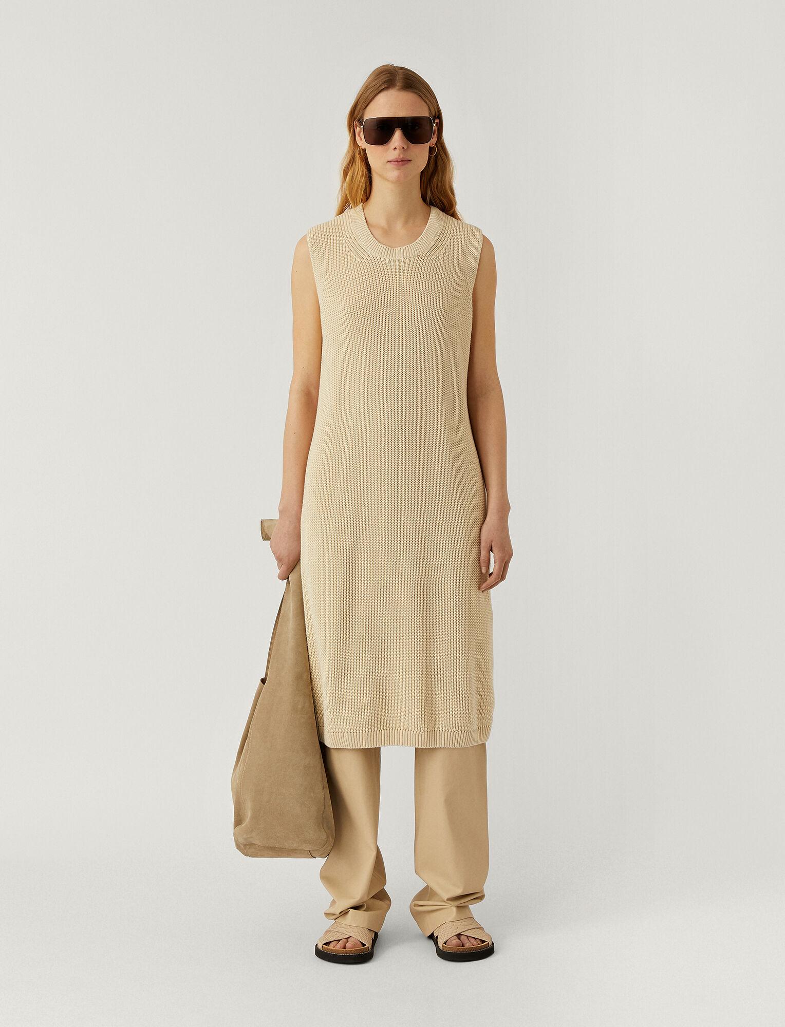 Joseph, Egyptian Cotton Dawson Dress, in IVORY