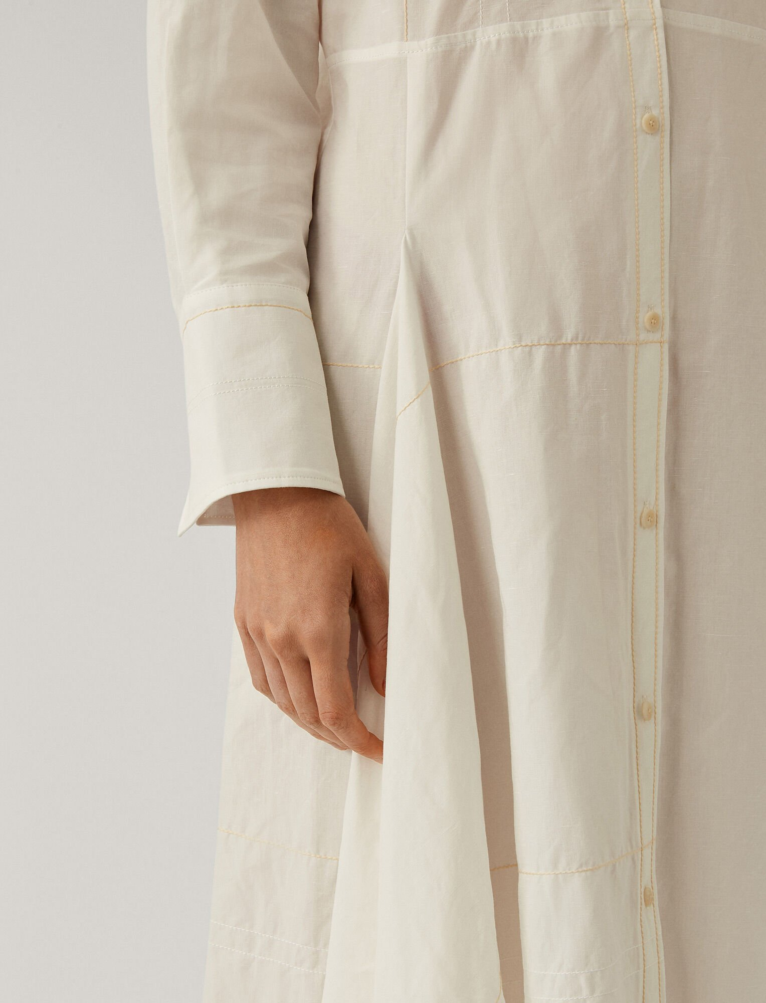 Joseph, Dale Linen Dress, in WHITE