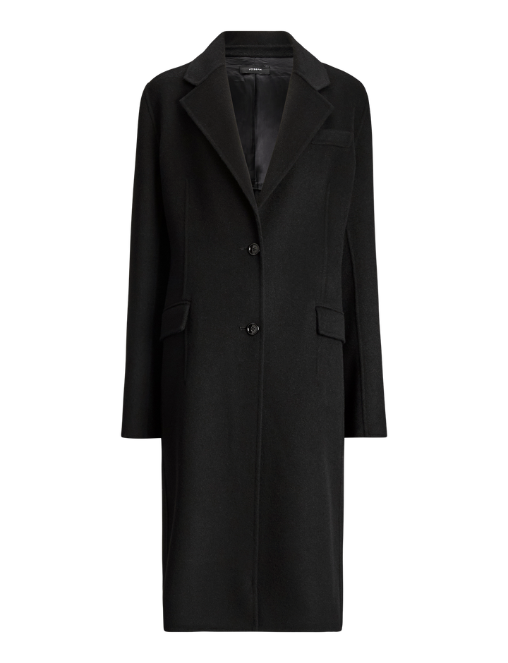 Joseph, Marly Wool Coat, in BLACK