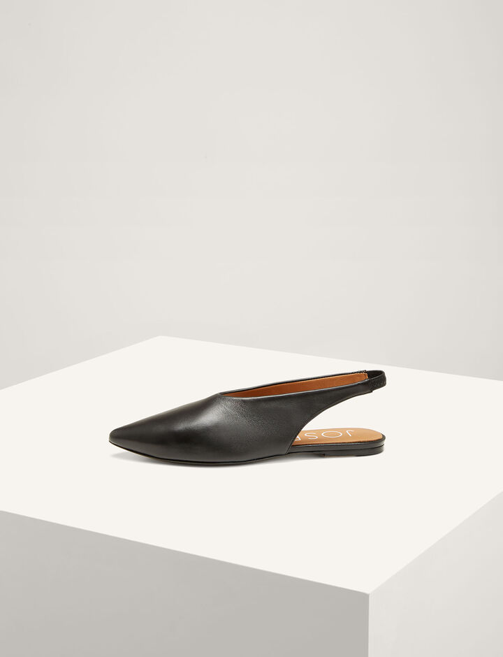 Joseph, The Sadie Slinkback Ballerinas, in BLACK