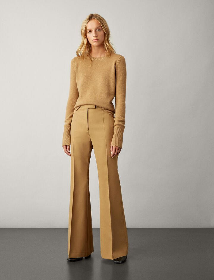 Joseph, Pure Cashmere Knit, in CAMEL