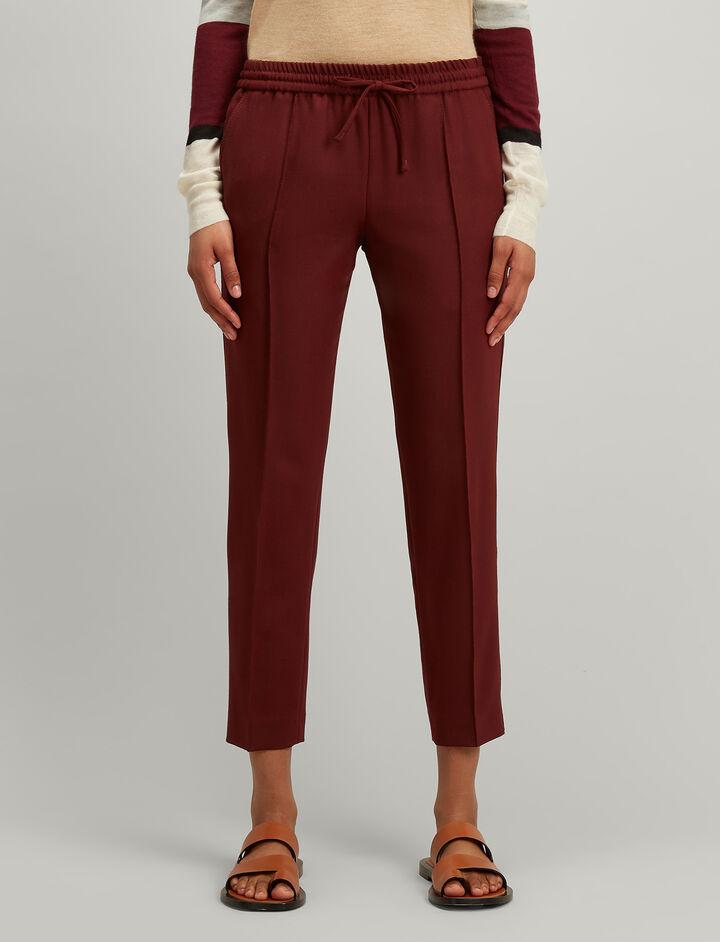 Joseph, Comfort Wool Lound Trousers, in MORGON