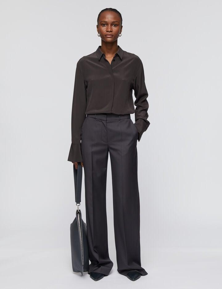 Joseph, Tailoring Wool Morissey Trousers, in IRON