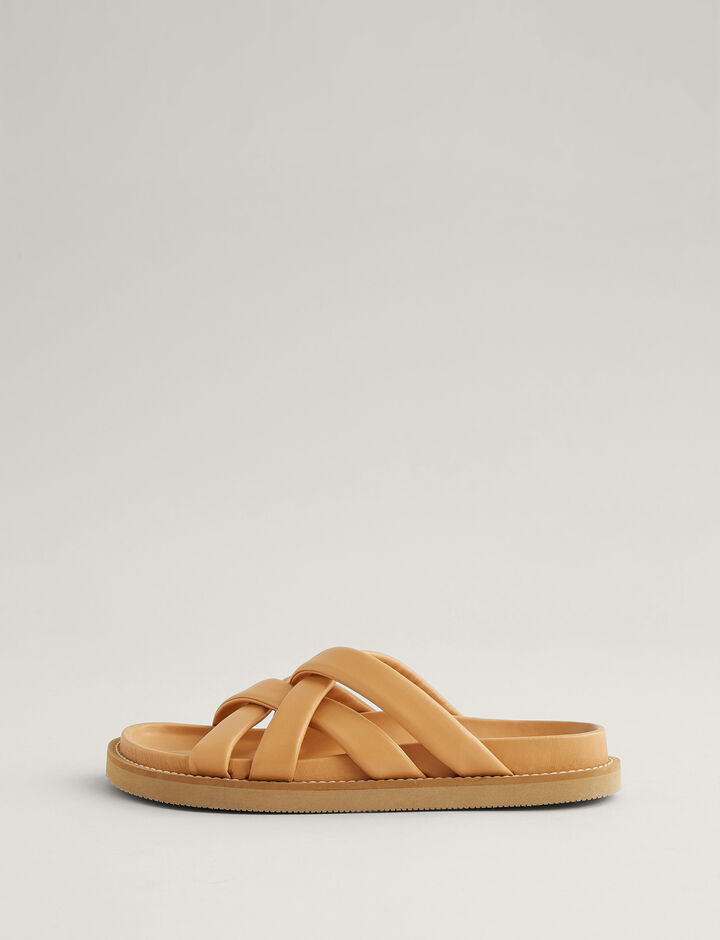 Joseph, Jamila Leather Sandal, in NATURAL