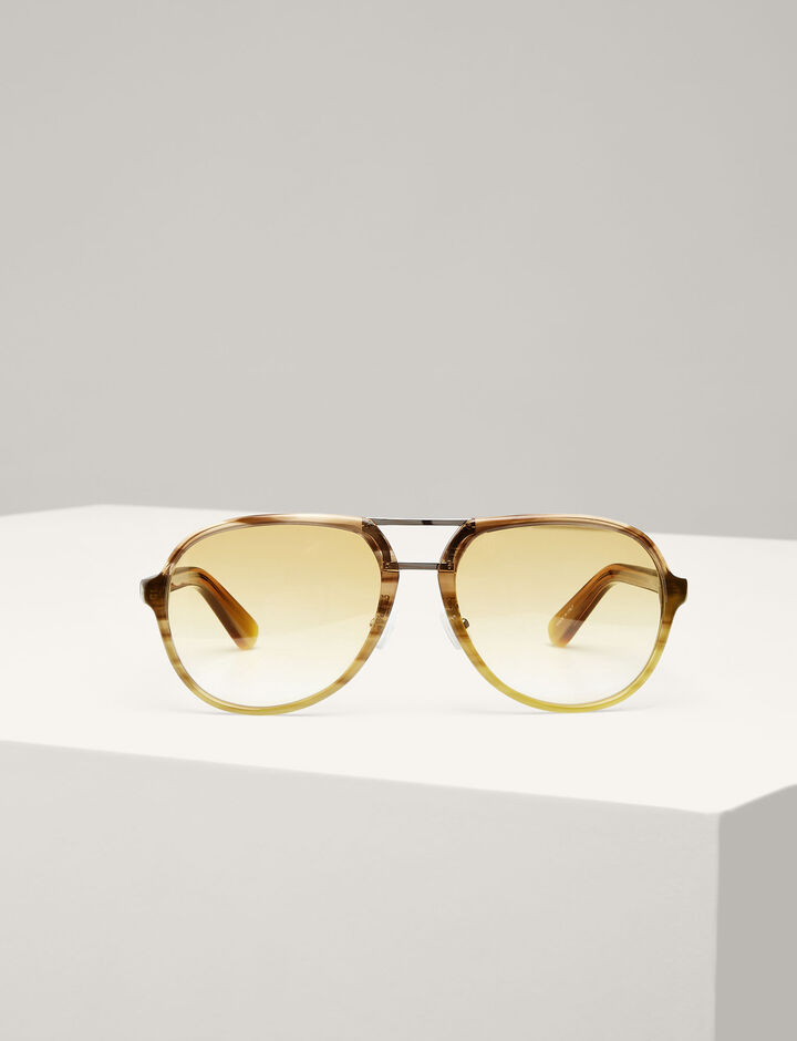 Joseph, Duke Sunglasses, in GOLD