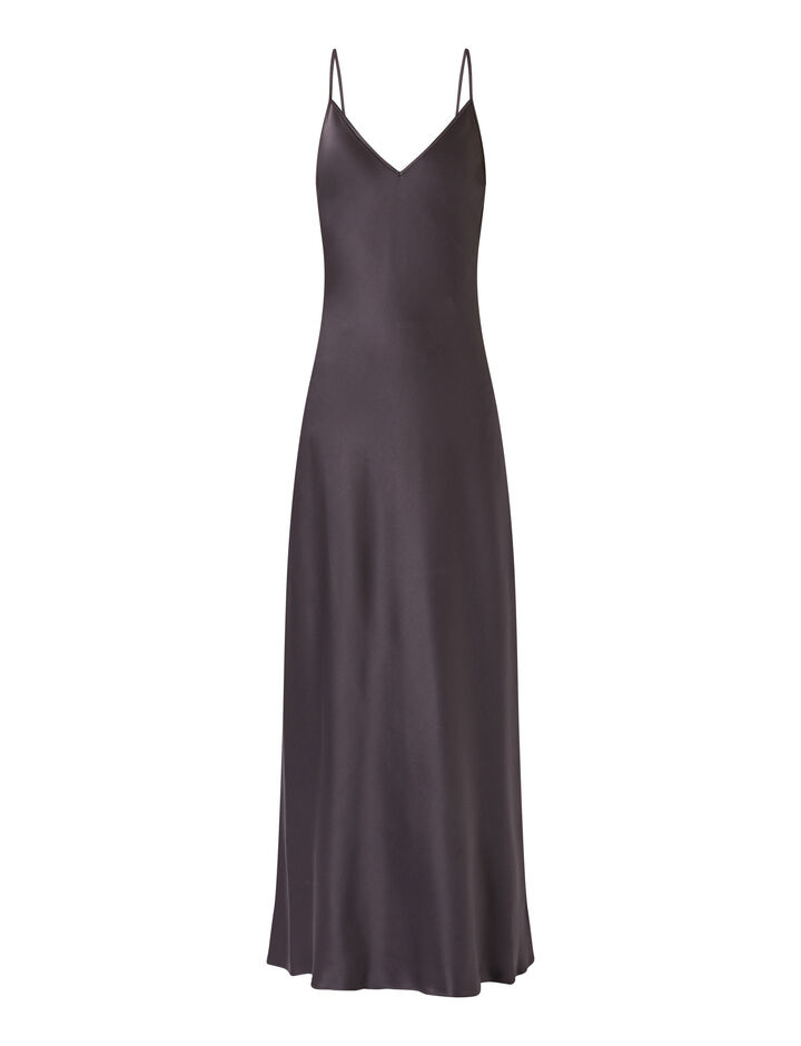 Joseph, Clea-Silk Satin, in ANTHRACITE