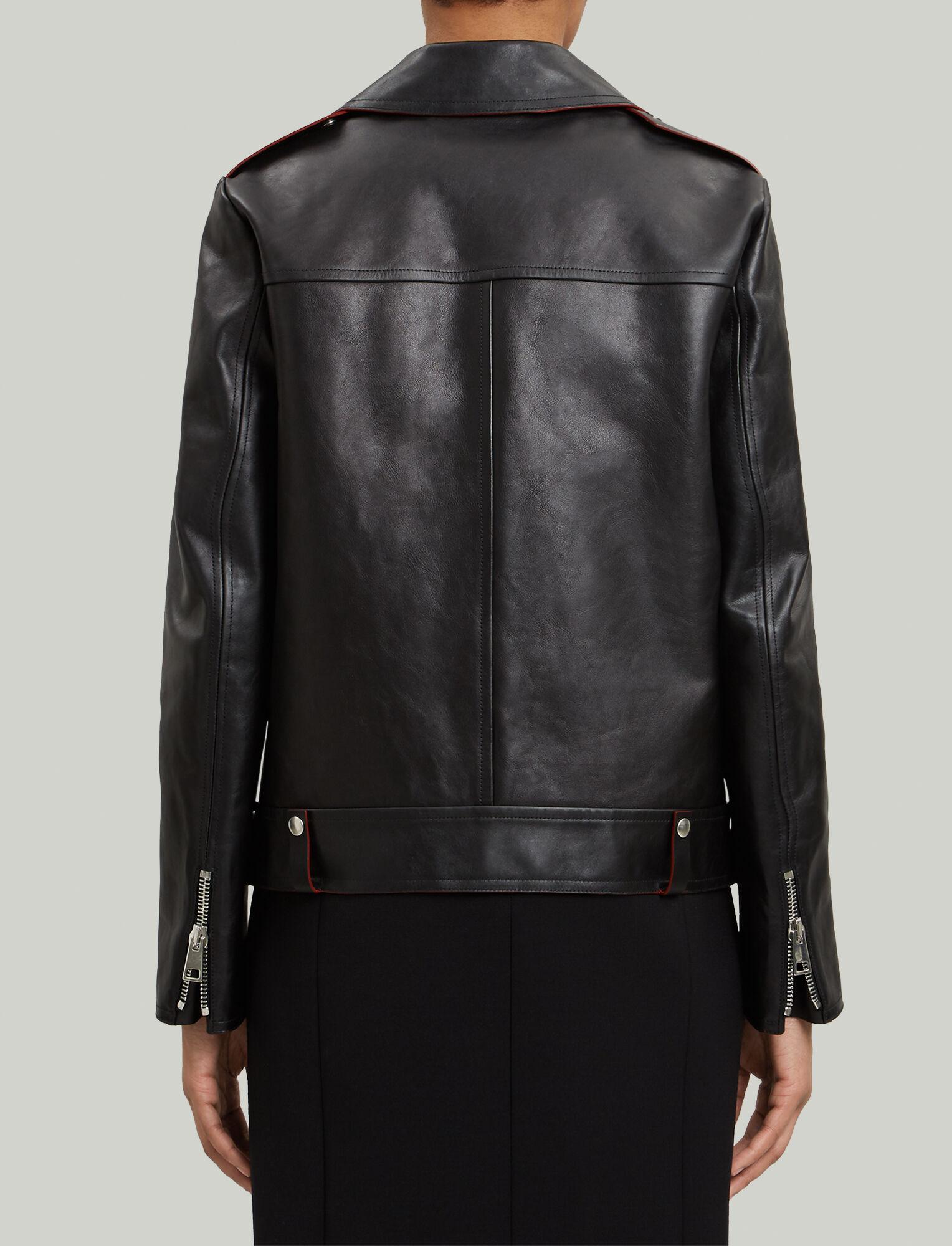 Joseph, Ryder Biker Leather Jacket, in BLACK