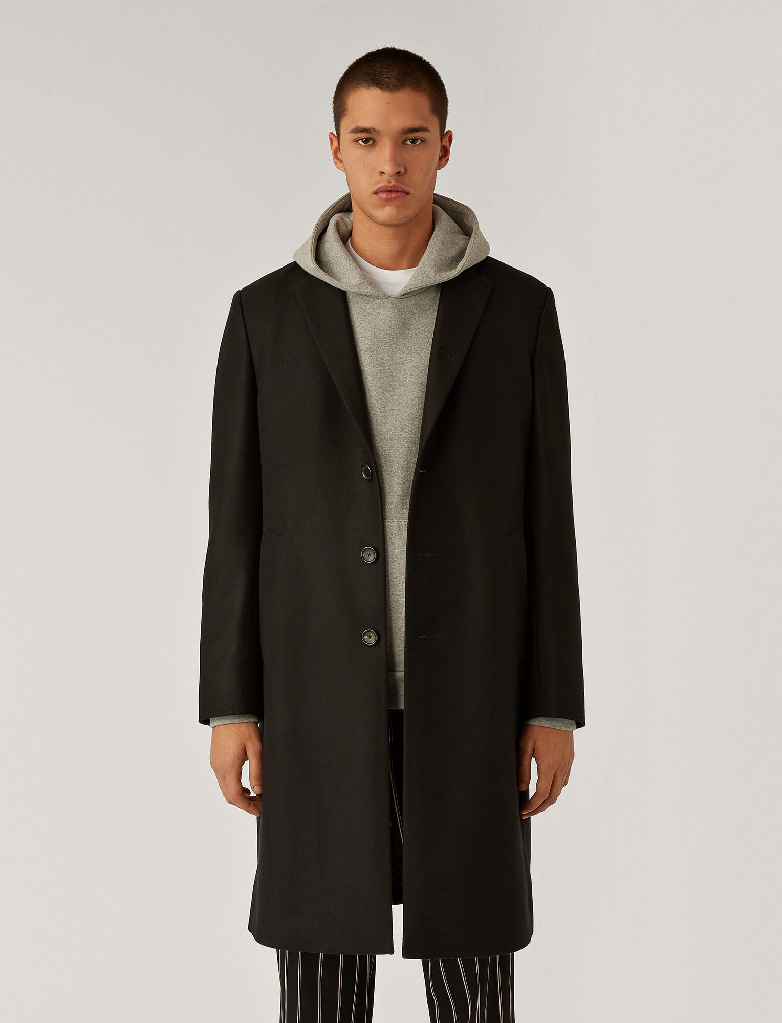 Joseph, Pure Cashmere Coat, in Black