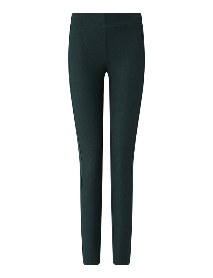 Joseph, Legging Gabardine Str Trousers, in Petrol
