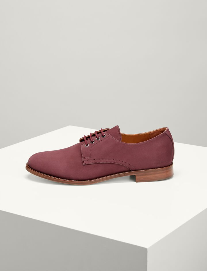Joseph, Nubuck Leather Derby Shoes, in MORGON