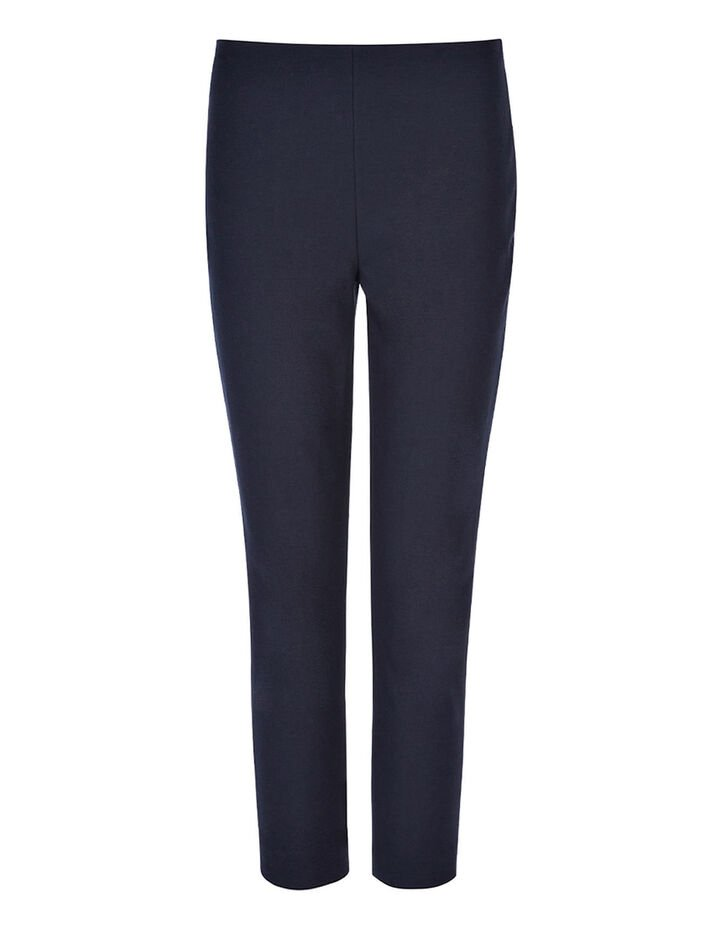 Joseph, Gabardine Stretch New Tony Cropped Trousers, in NAVY