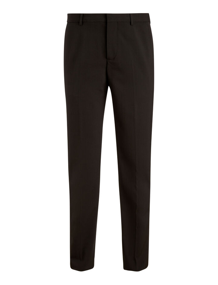 Joseph, Jack Techno Wool Stretch Trousers, in BLACK