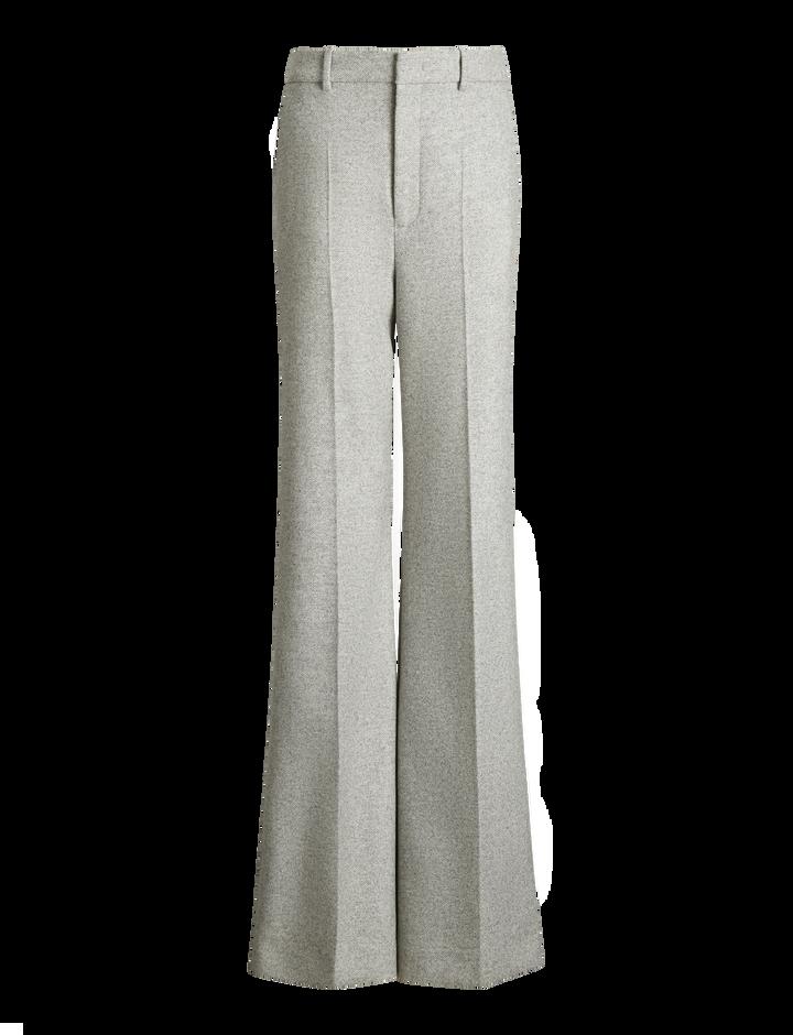 Joseph, Jess Herringbone Trousers, in LIGHT GREY