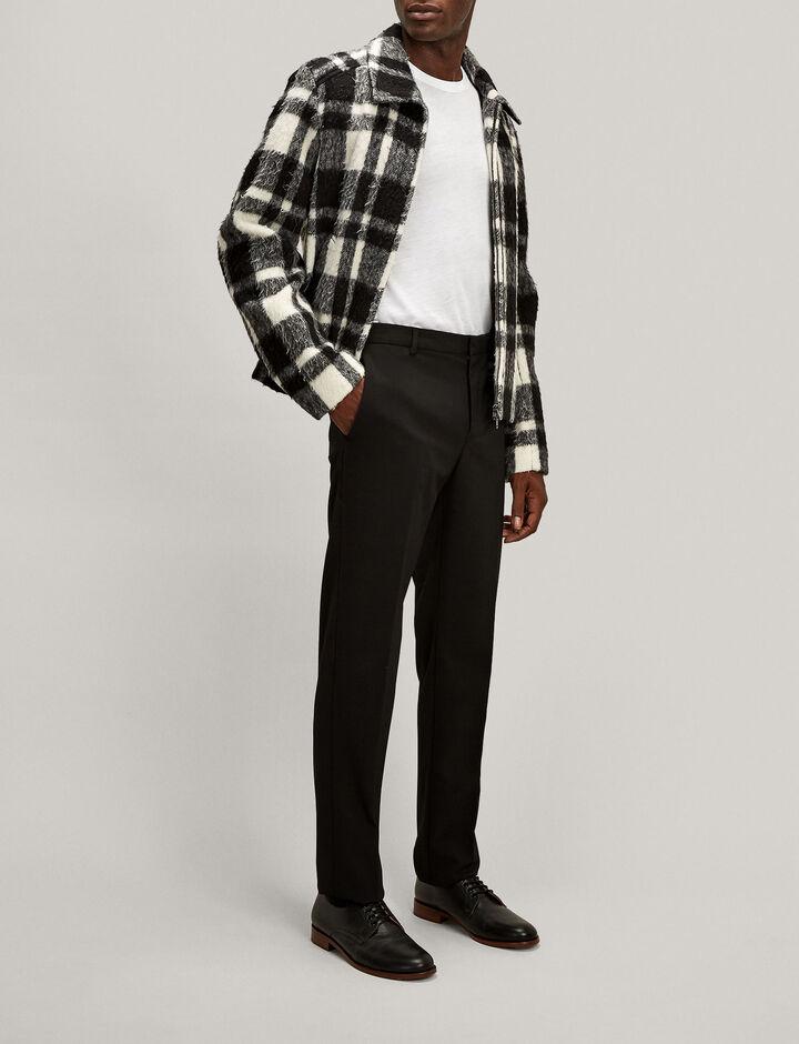 Joseph, Jack Techno Wool Stretch Trousers, in BLACK