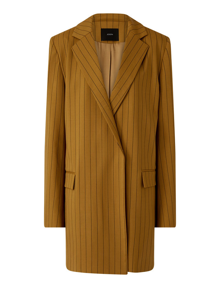 Joseph, Jules-Wool Spring Stripe, in OAK