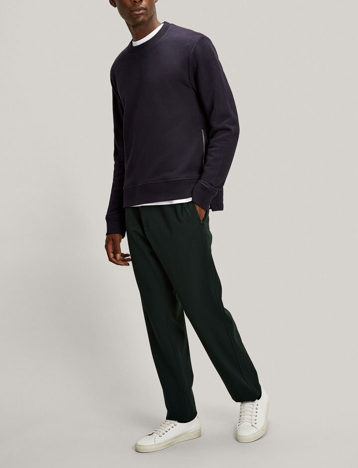 Joseph, Ettrick Techno Wool Stretch Trousers, in BERMUDA
