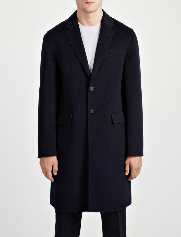 Joseph, Double Face Cashmere Caversham Coat, in NAVY