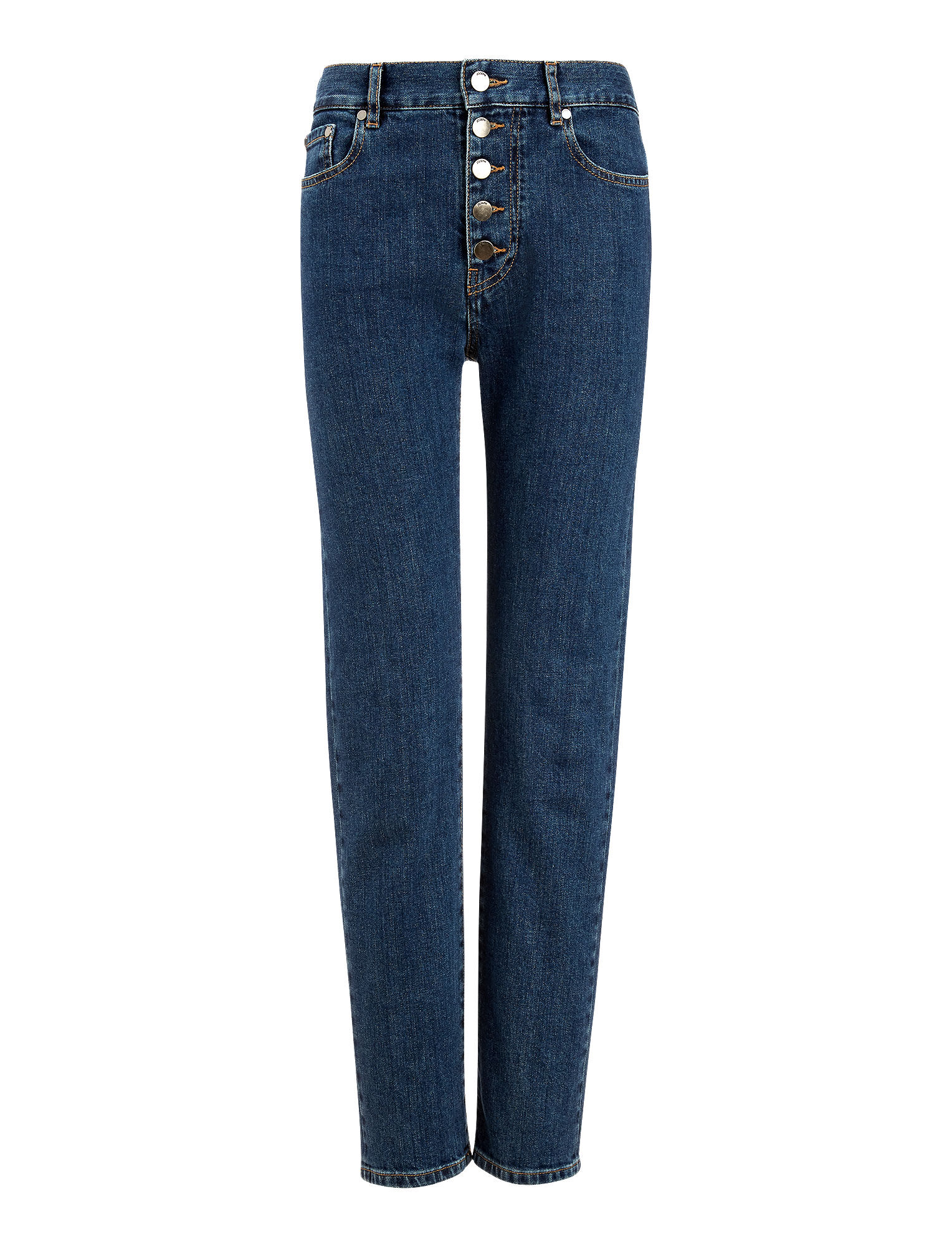 Joseph, Den Denim Stretch Trousers, in AUTHENTIC BLUE