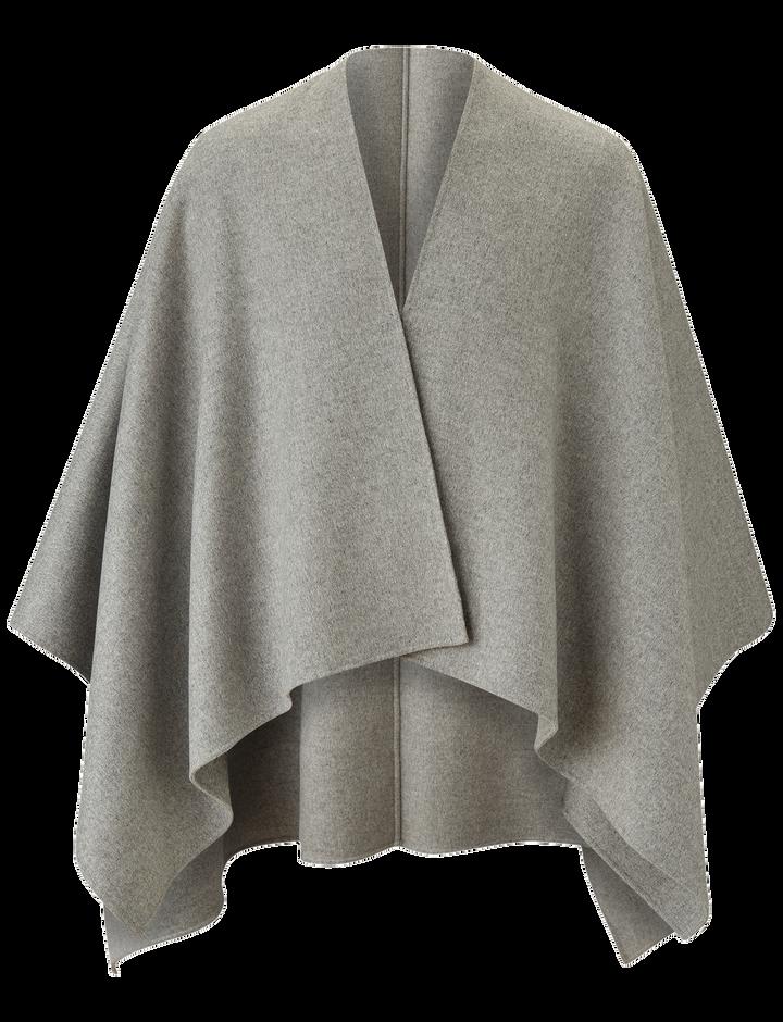 Joseph, Quadro Double Face Cashmere Coat, in GREY