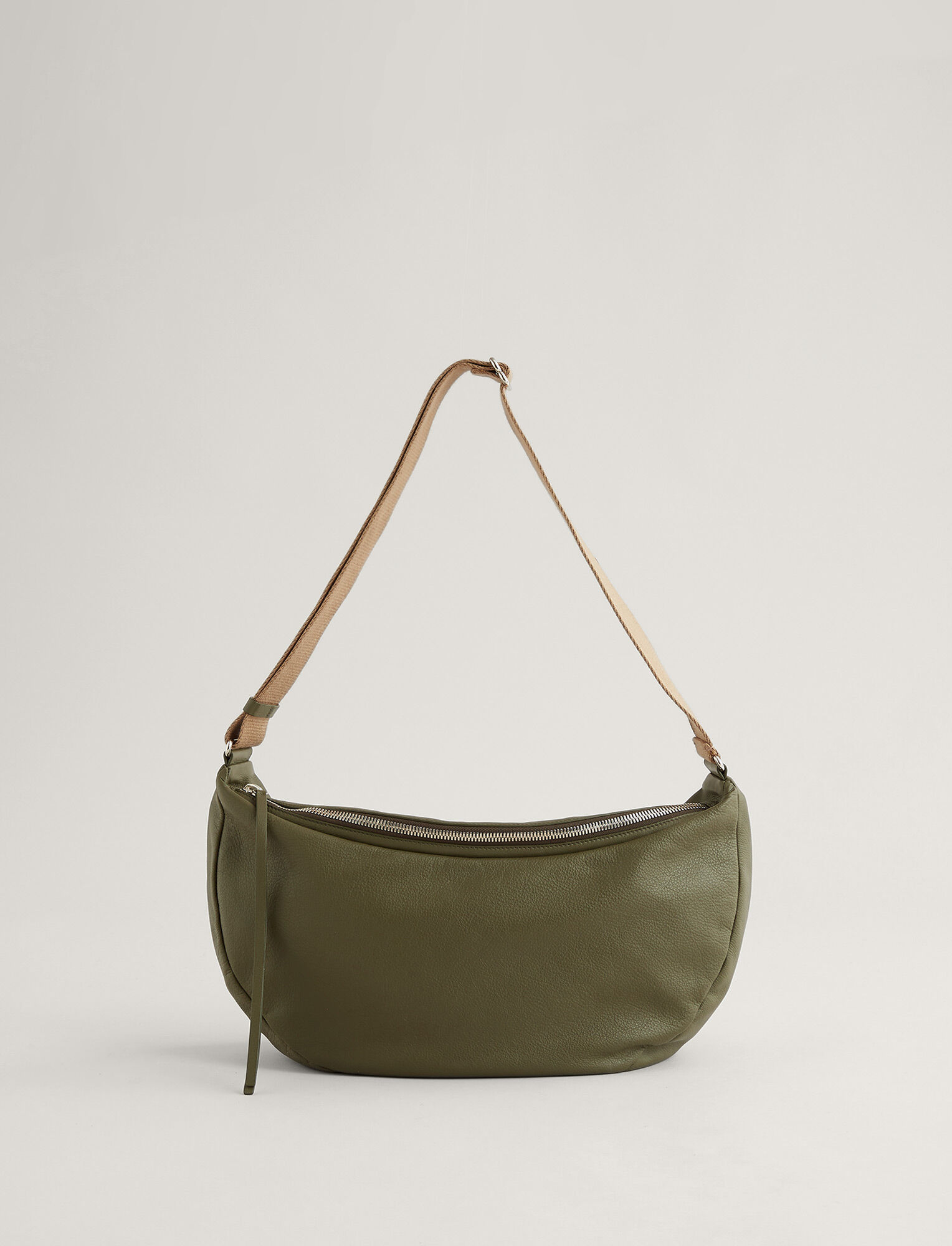 Joseph, Marylebone Leather Bag, in OLIVE