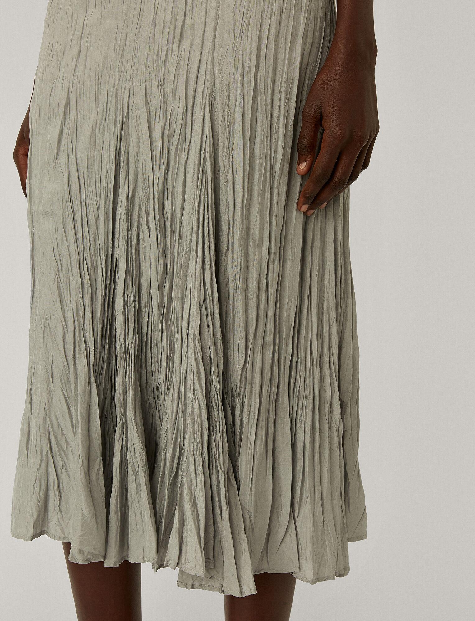 Joseph, Habotai Desvigne Dress, in CLOUD