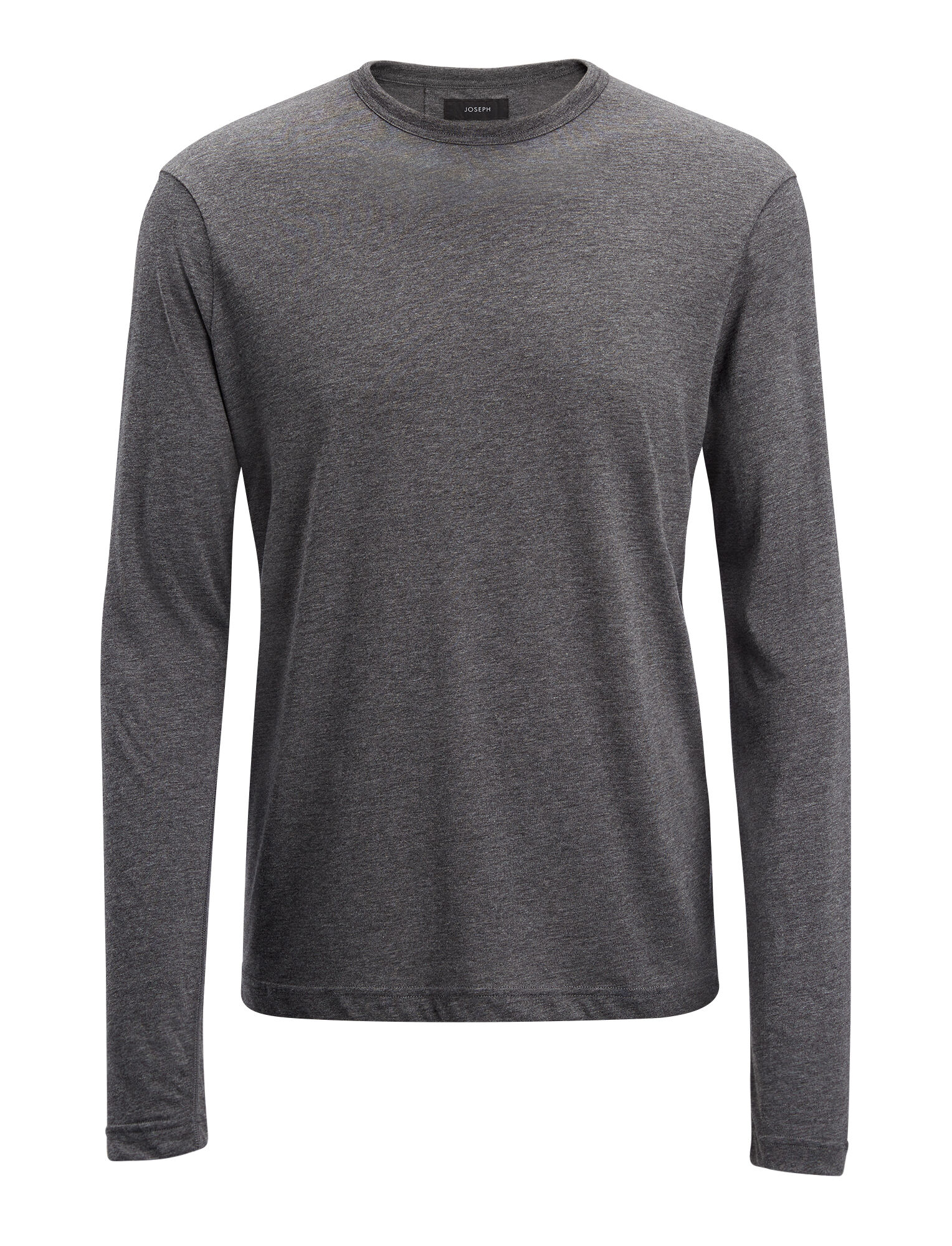 Joseph, Lyocell Jersey Top, in GRAPHITE