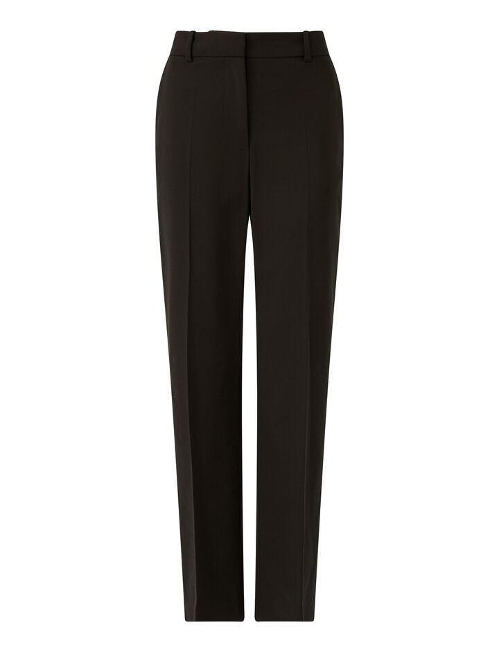 Joseph, Coleman Light Wool Suiting Trousers, in Black