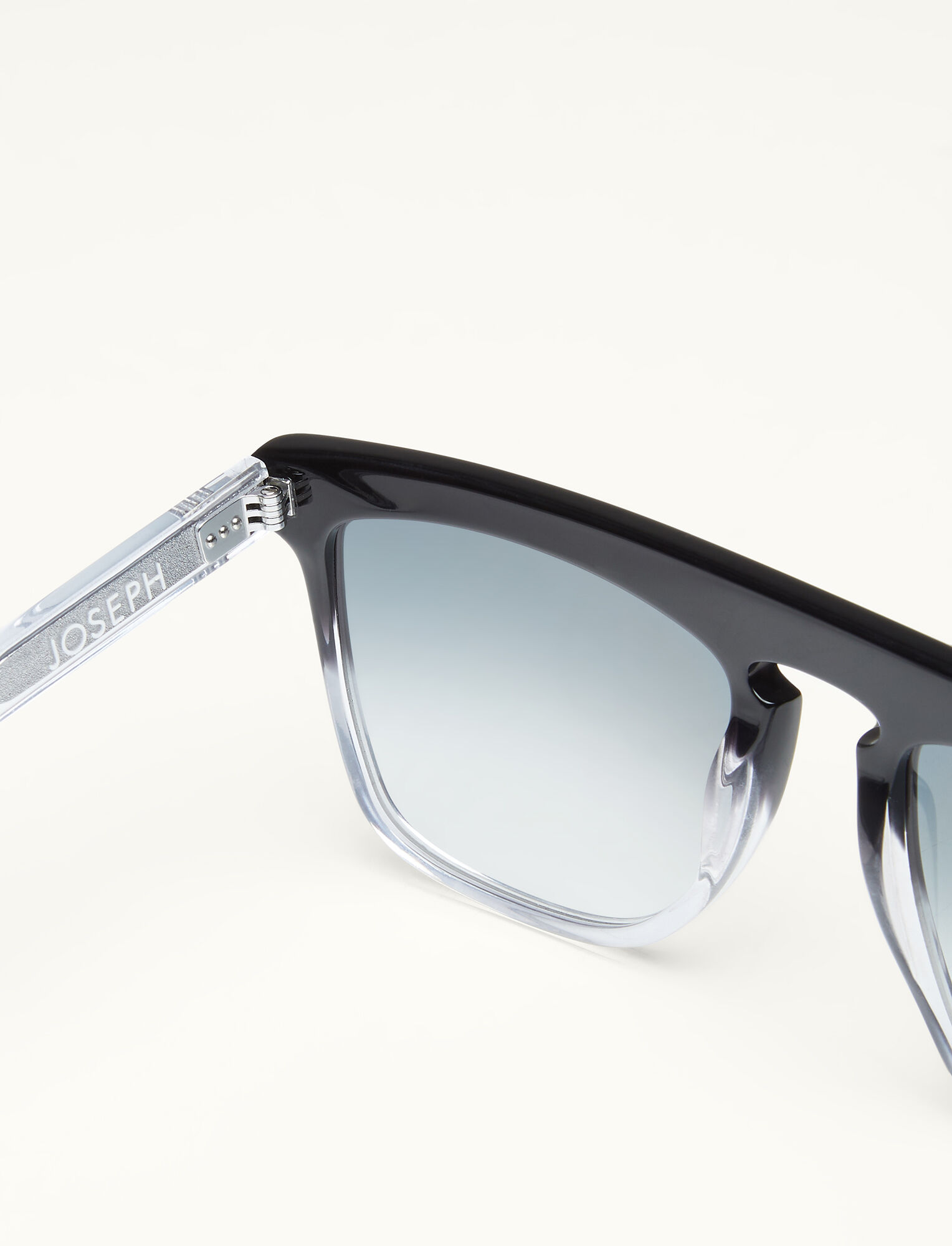 Joseph, Madison Sunglasses, in BLACK/TRANSPARENT