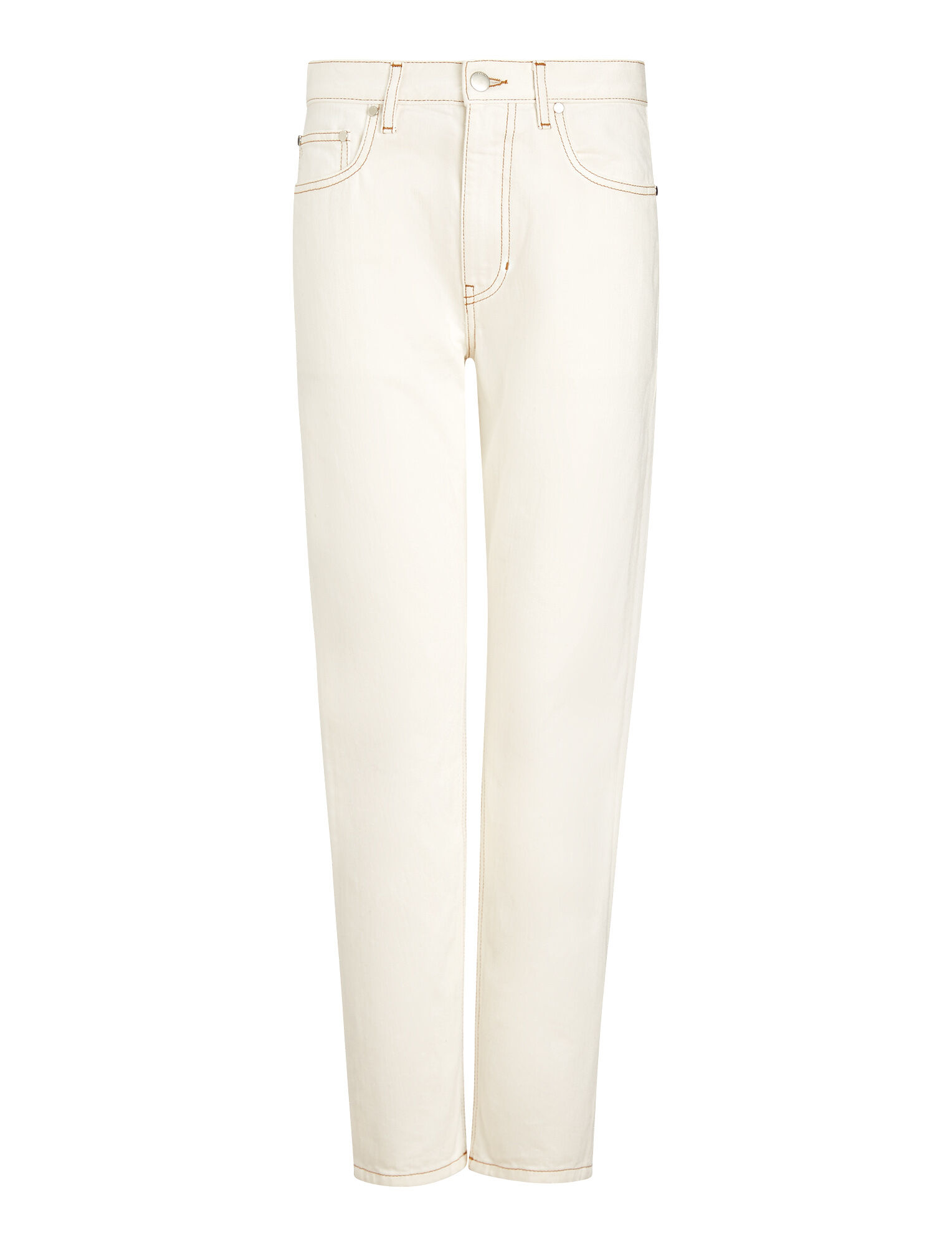 Joseph, Kemp White Denim Trousers, in WHITE
