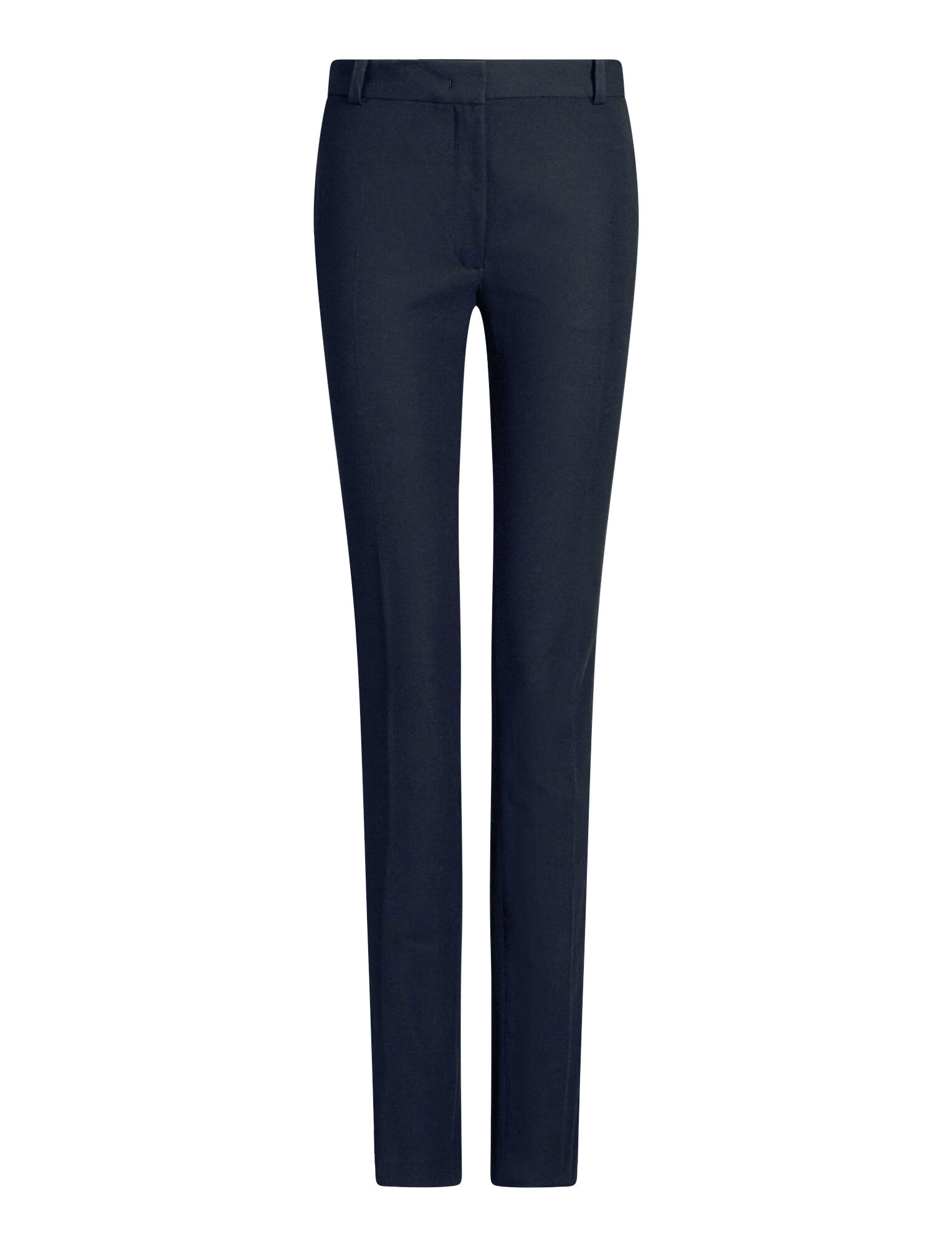 Joseph, Zoran Gabardine Stretch Trousers, in NAVY