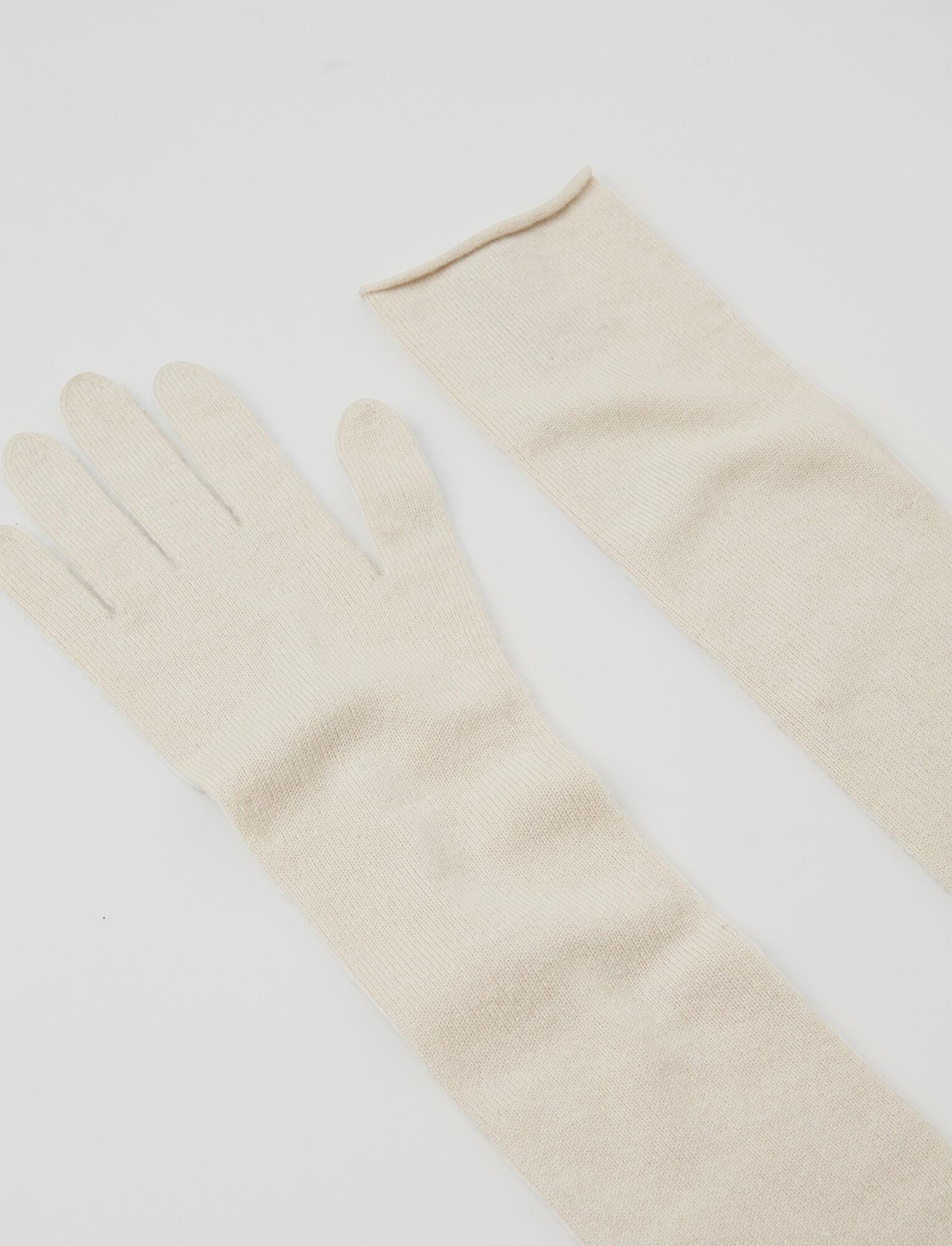 Joseph, Mongolian Cashmere Gloves, in ECRU