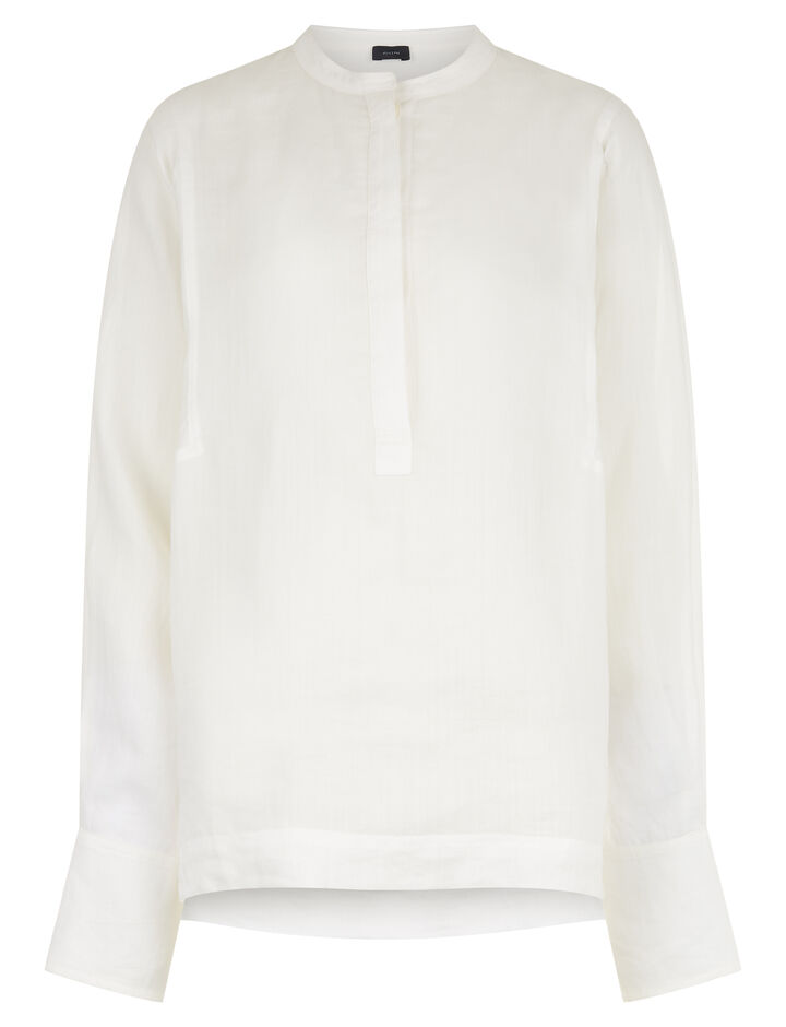 Joseph, Ferris Ramie Voile Blouse, in OFF WHITE