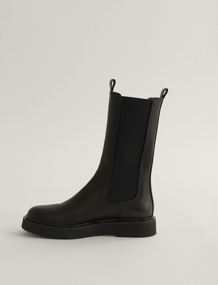 Joseph, British Chelsea Boot, in Black