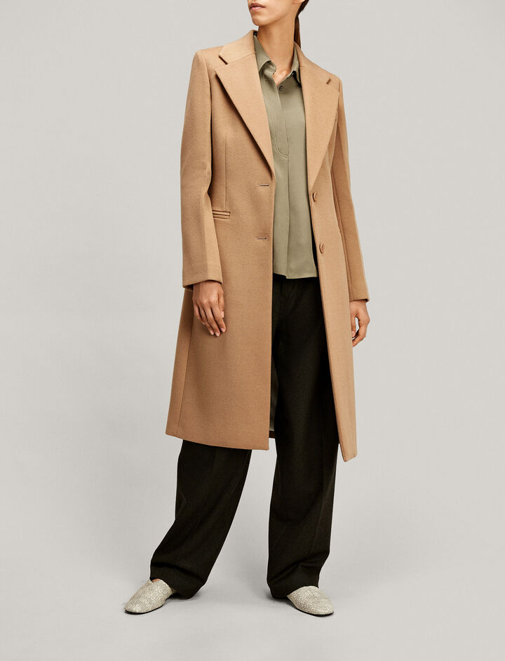 Joseph, Marline Tailored Coat, in DARK CAMEL