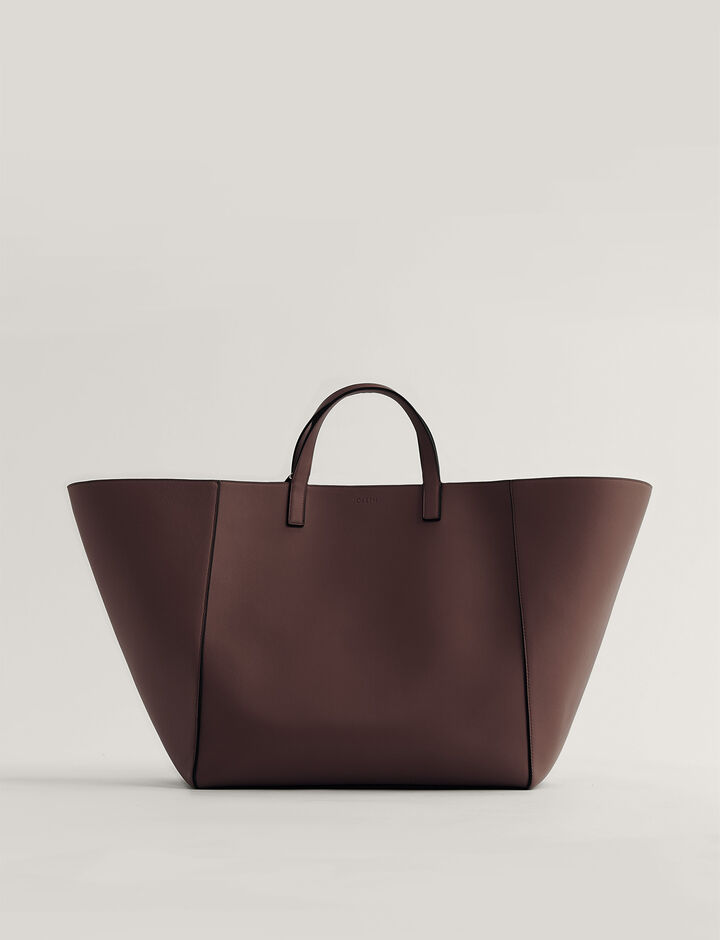 Joseph, Tote-Leather, in GANACHE
