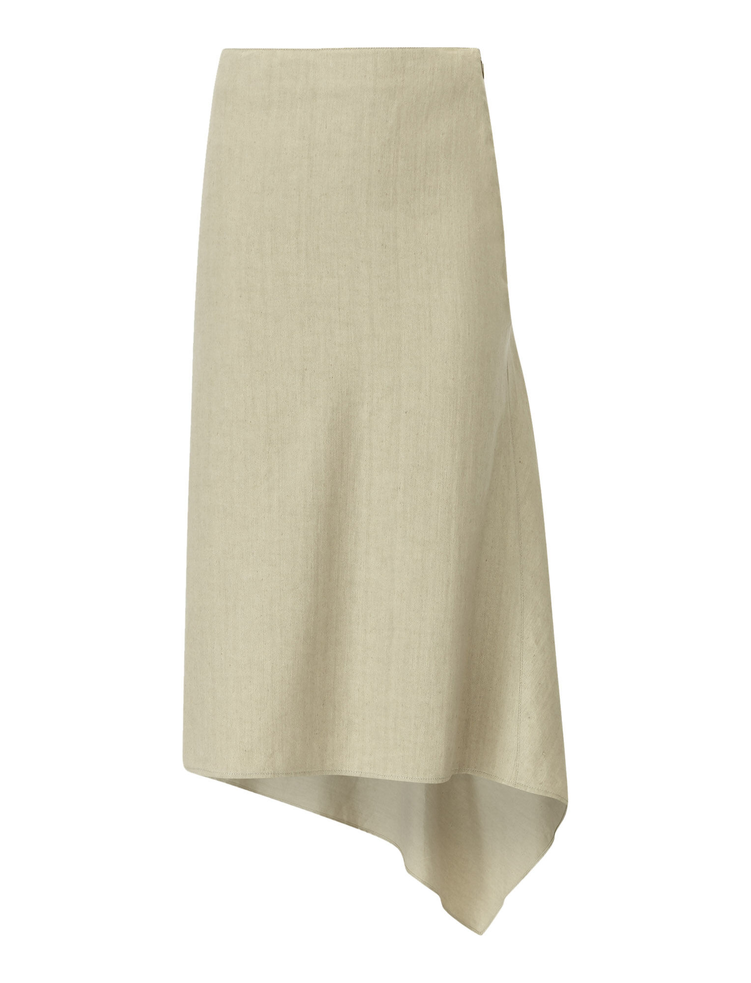 Joseph, Dillion Stretch Linen Skirt, in SAND