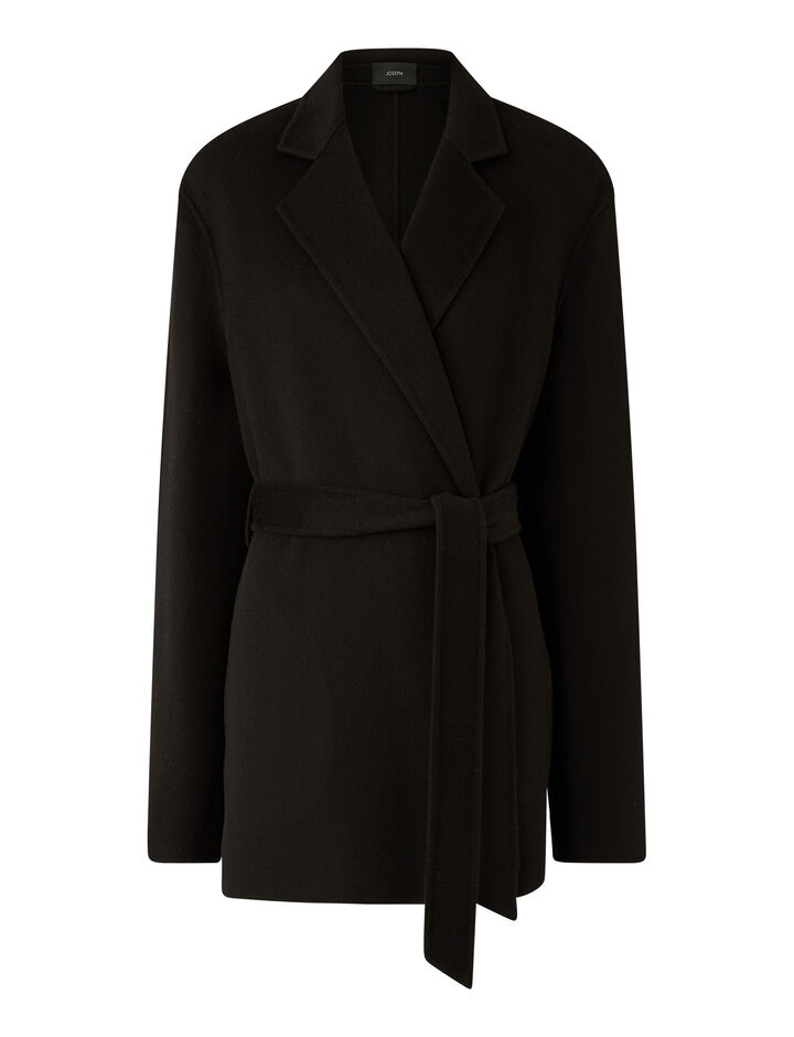Joseph, Cenda Dbl Face Cashmere Coats, in Black